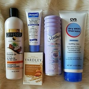 Skintimate Makeup - Bundle of 5 full sizedbeauty/body items